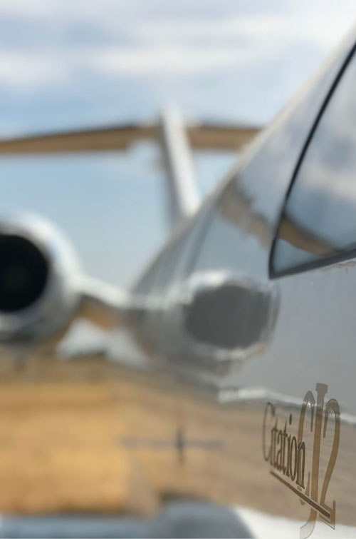 Erceg Aviation's charter flights operate from Perth airport