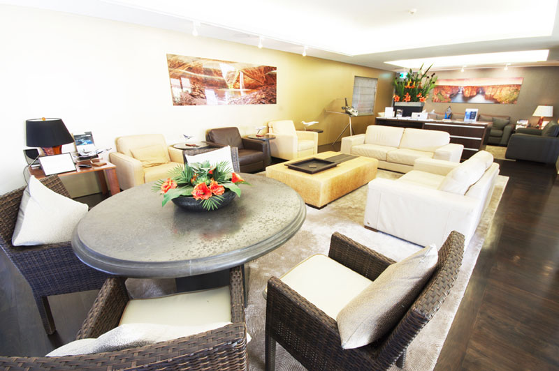 Private VIP Lounge at Perth Airport