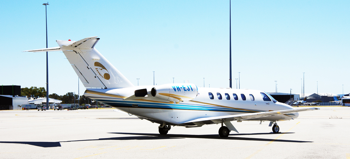 Our private jet